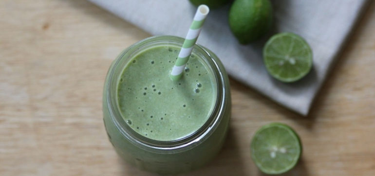 Love Key Lime Pie? You'll Love This Smoothie Recipe! Hero Image