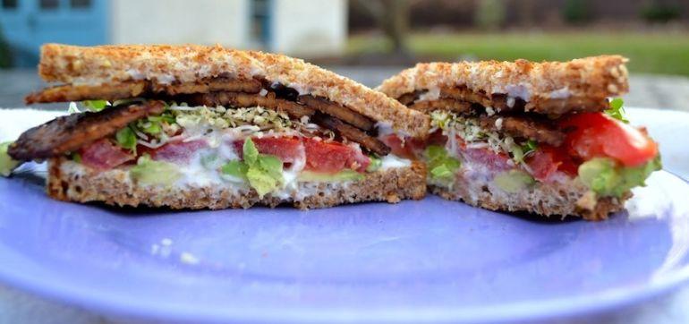 Avocado BLT With Maple Tempeh Bacon (It's Vegan!) Hero Image