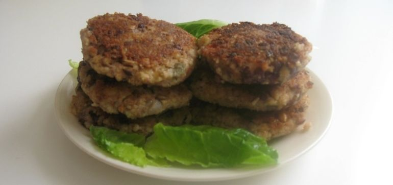 Protein-Packed Wholesome Millet Burgers Hero Image