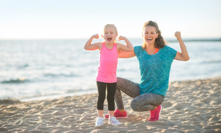 8 Realistic Workout Tips For Stay At Home Moms Hero Image