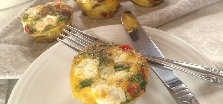 Make Sunday A Funday With These Muffin Tin Frittatas Hero Image