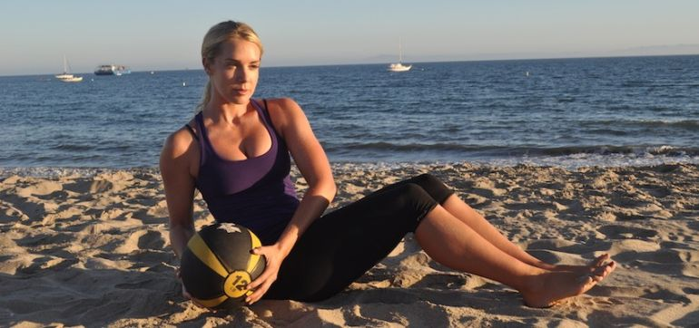 6 Moves For Total Body Transformation (All You Need Is A Medicine Ball!) Hero Image