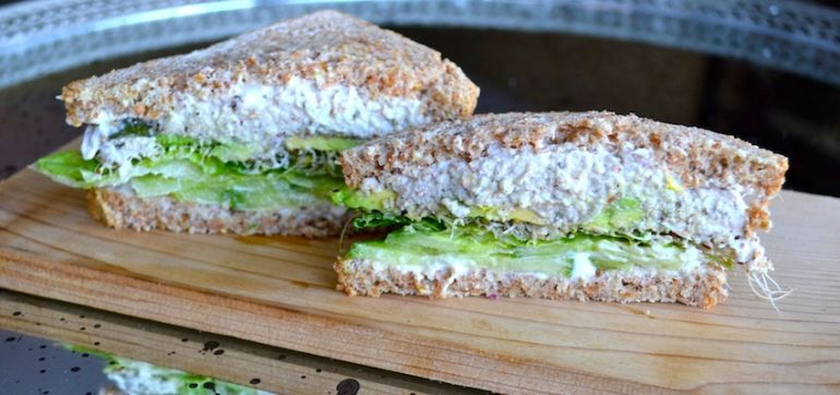 "A Vegan ""Tuna Salad"" Sandwich That Won't Stink Up The Office Hero Image"