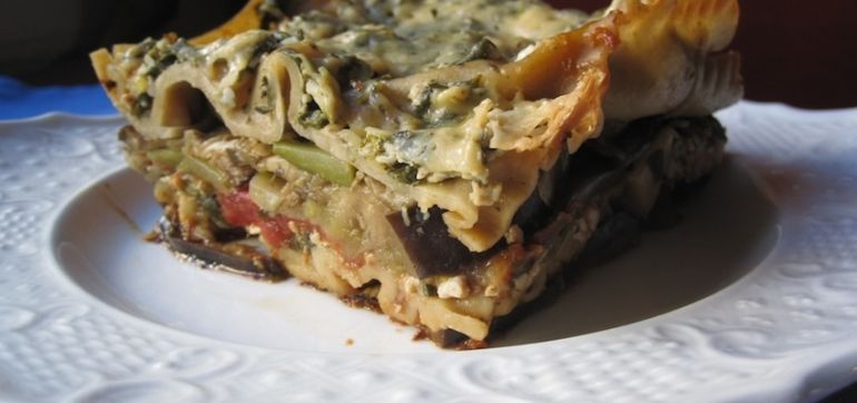 Veganize This: Lasagna (An Oil-Free Recipe) Hero Image