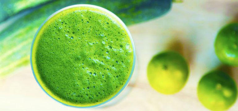 Wake-Me-Up Green Juice Recipe Hero Image
