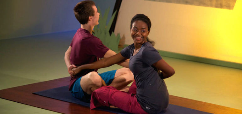 Want A Drama-Free Teenager? 5 Ways Yoga Can Help Hero Image