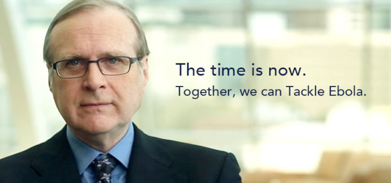 Microsoft Co-Founder Paul Allen Donating $100 Million To Tackle Ebola Hero Image