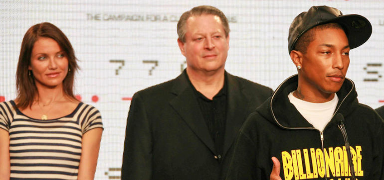 Al Gore & Pharrell Want To Save Planet Earth Together Hero Image
