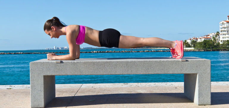 5 Workout Moves For When You Don't Have Time To Shower Hero Image