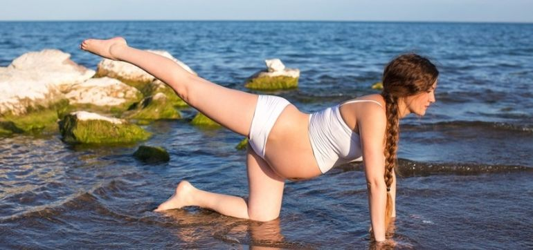 How Yoga During Pregnancy Helps Me Stay Balanced Hero Image