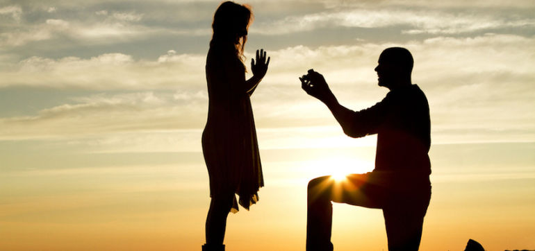 Watch This Heartwarming Video Of A Surprise Proposal At A Yoga Retreat Hero Image