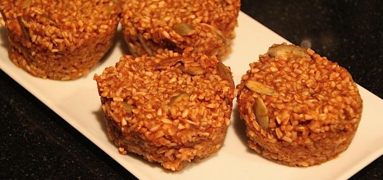 Baked Pumpkin-Spiced Oatmeal (Vegan & Gluten Free) Hero Image
