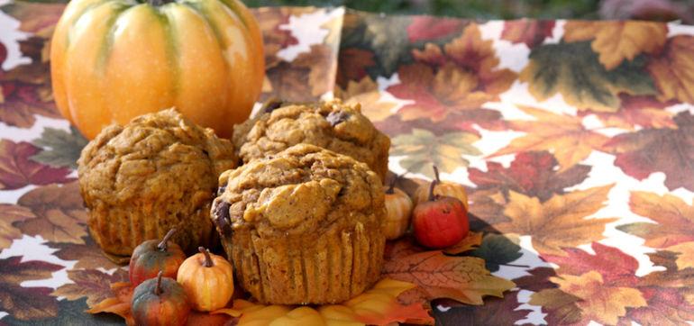 Grain-Free, Sugar-Free Pumpkin Spice Muffins Hero Image