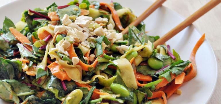 Raw Pad Thai Salad (Vegan & Gluten-Free!) Hero Image