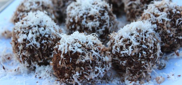 Raw Recipe: Chocolate Energy Balls Hero Image