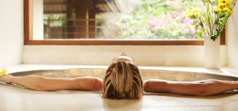 Soak Your Stress Away! Try A Salt, Lavender & Argan Oil Healing Bath Hero Image