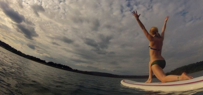 Why SUP Is The Best Way To Take Yoga Off The Mat Hero Image
