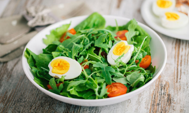 Why You Should Put Eggs On Your Salad Hero Image