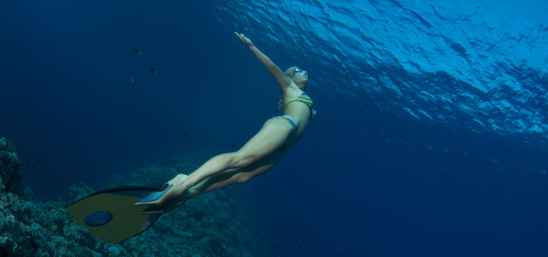 What Being A Record-Holding Free Diver Taught Me About Acceptance Hero Image