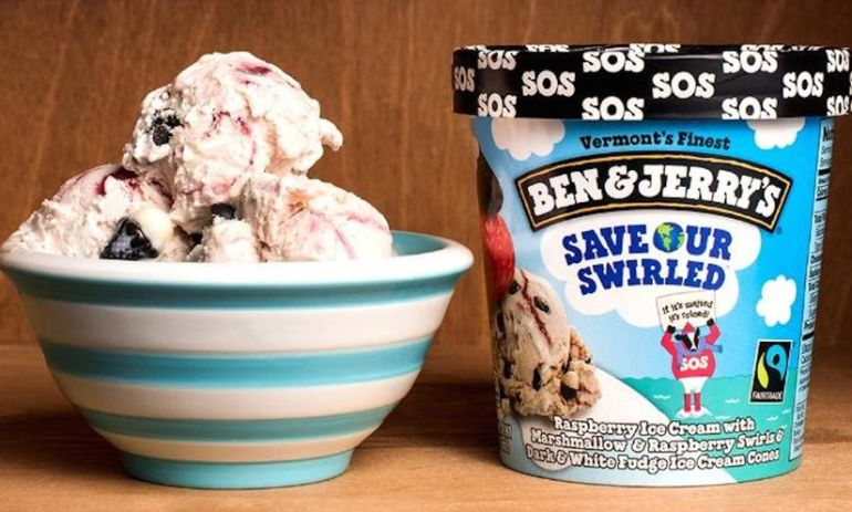 Ben & Jerry's New Flavor Raises Awareness About Climate Change Hero Image