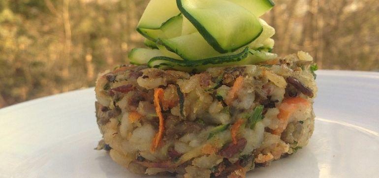 Wild Rice & Lentil Cakes (Vegan & Gluten-Free) Hero Image