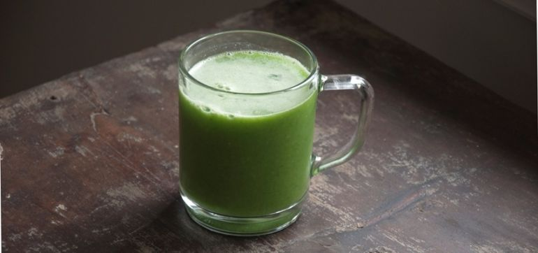 A Green Juice For Healthy, Glowing Skin Hero Image