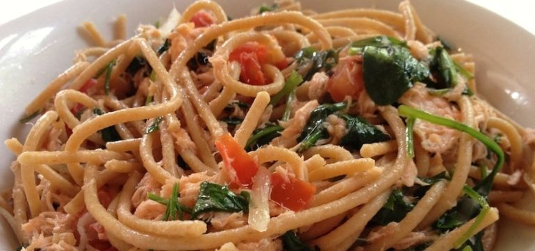 Get Your Omega-3s With This Smoked Salmon Pasta Recipe! Hero Image