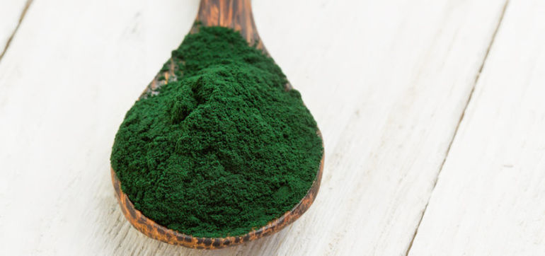 Exfoliating & Nourishing Spirulina Face Mask Hero Image