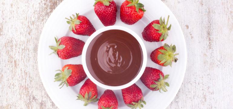 Decadent (And Vegan!) Chocolate Fondue Hero Image
