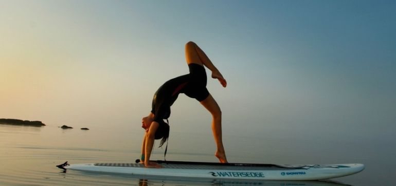 Stand Up Paddleboard Yoga On The Long Island Sound (Gorgeous Slideshow) Hero Image