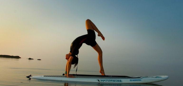 Stand Up Paddleboard Yoga On The Long Island Sound (Gorgeous Slideshow) Hero Image