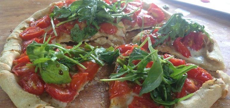 Gluten-Free Recipe: An Incredible Stuffed Crust Summer Pizza Hero Image