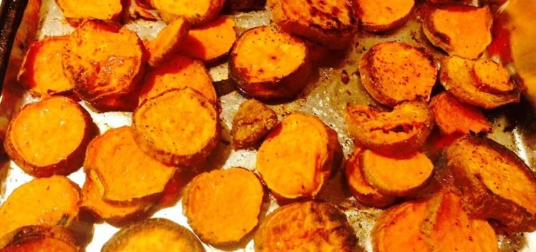 Simple Sweet Potato Fries For Super Bowl Sunday Hero Image