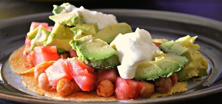 Super-Simple Chickpea Tacos! Hero Image