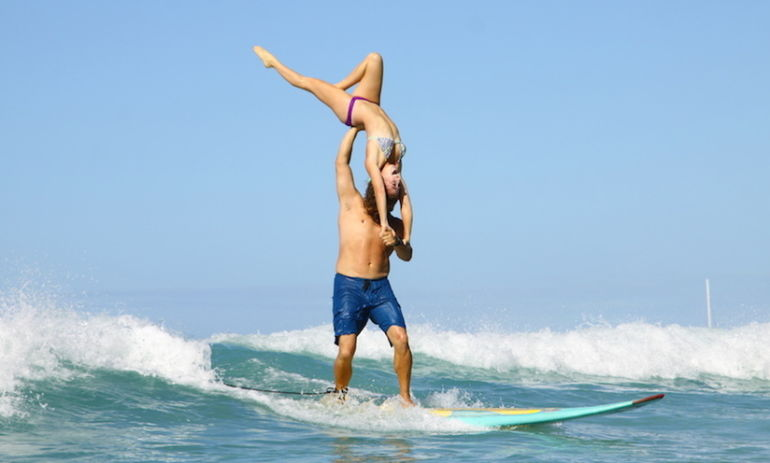 Tandem Surfing: Another Reason To Hit The Beach This Summer Hero Image