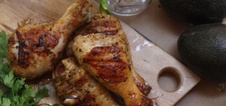 Tequila-Lime BBQ Chicken For Labor Day Weekend! Hero Image