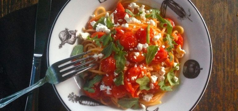 Capture The Magic Of Summer Tomatoes With This Pasta Sauce! Hero Image