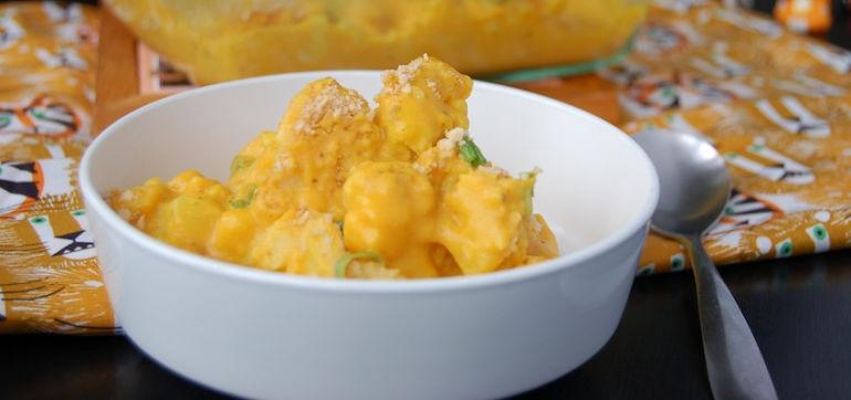 Cauliflower 'N Cheese Bake (Vegan & Gluten-Free) Hero Image
