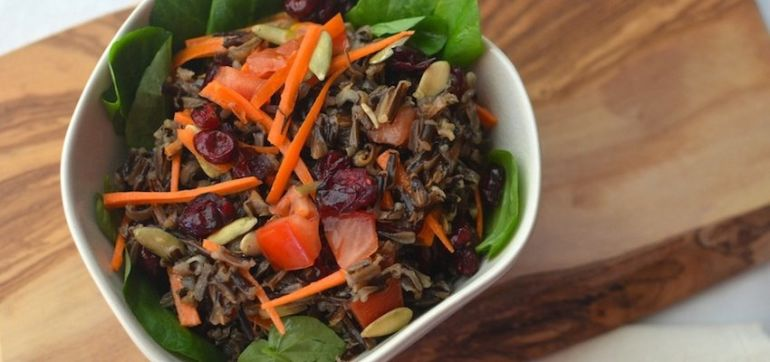 Wild Rice & Watercress Salad Hero Image