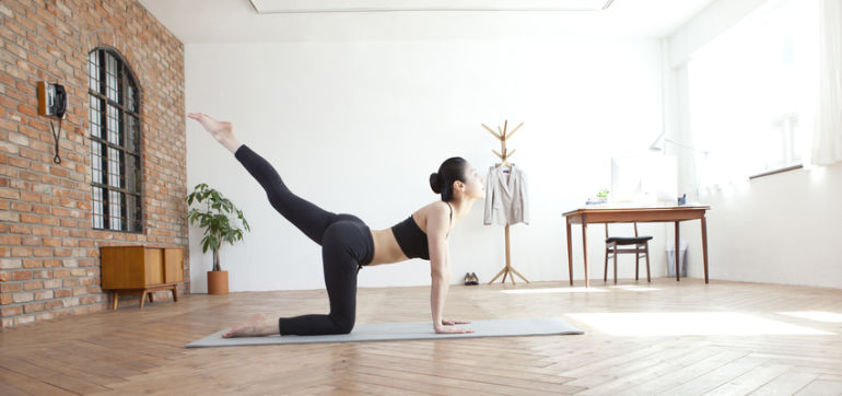 A 7-Minute Workout For Super-Strong Glutes Hero Image