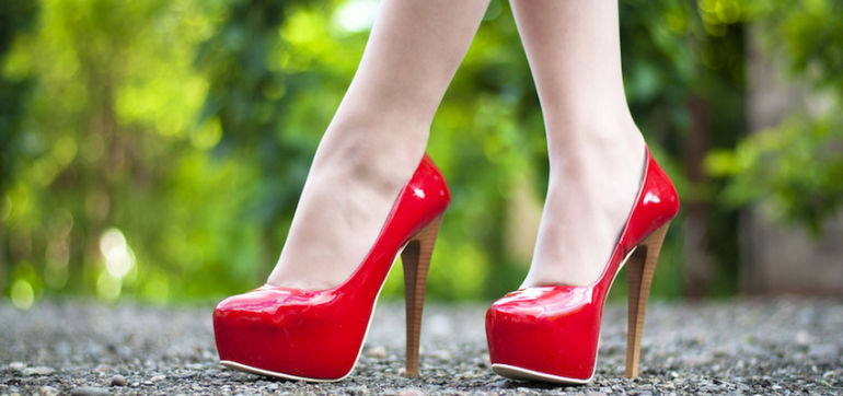 If You're Going to Wear High Heels, Be Healthy About It Hero Image