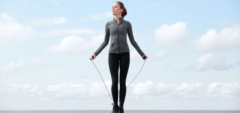 Skip Yourself Slim With 5 Jump Rope Exercises Hero Image