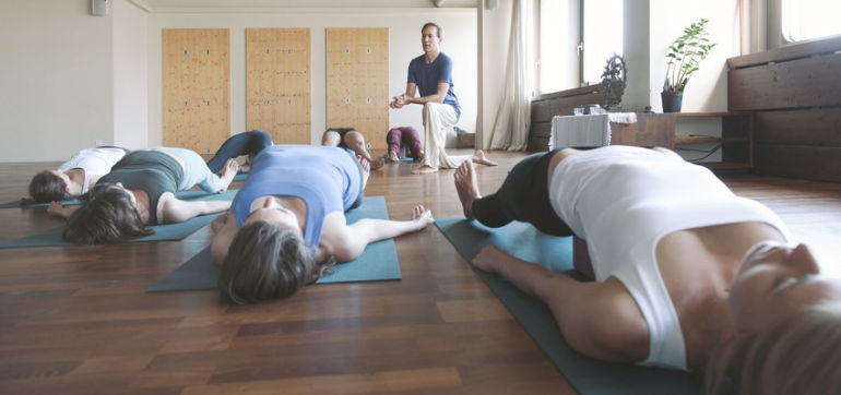 7 Ways To Get The Most Out Of A Yoga Class Hero Image