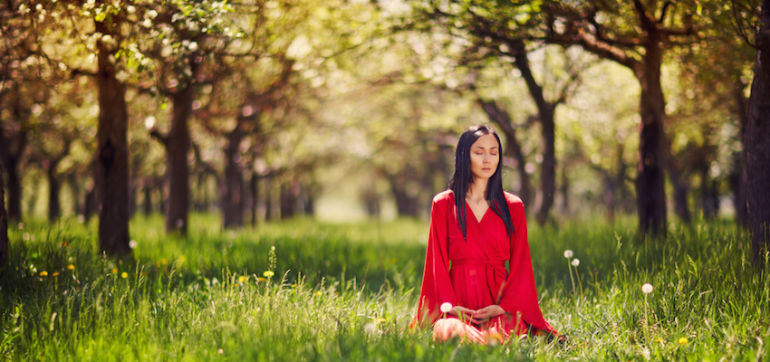 4 Yoga Poses To Help Unlock Your Hidden Emotions Hero Image
