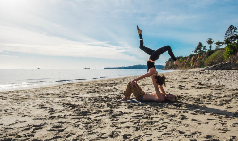 How AcroYoga Transformed My Sex Life Hero Image