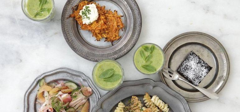 5 Ways To Have A Healthier, More Plant-Based Hanukkah Hero Image