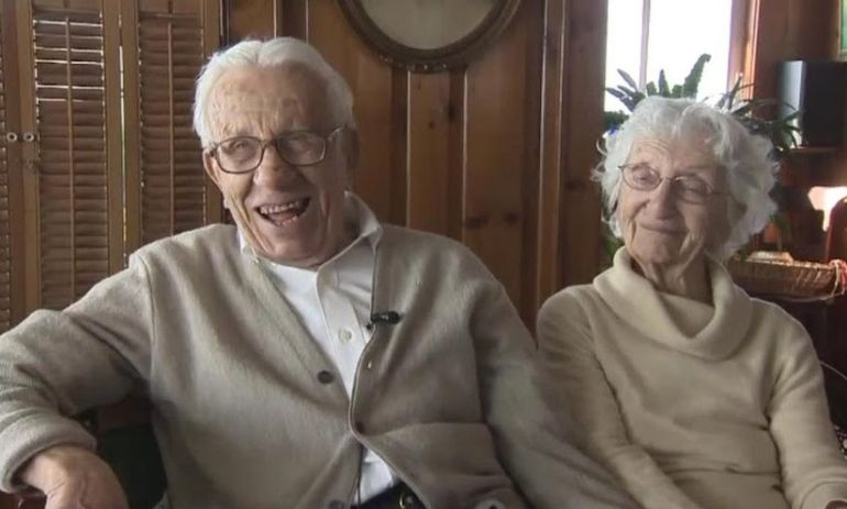 Get Relationship Advice From The Longest-Married Couple In America Hero Image