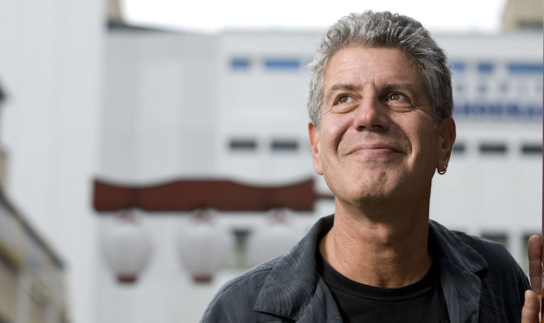 Anthony Bourdain's New Documentary Promises To Reinvent Food Waste Hero Image