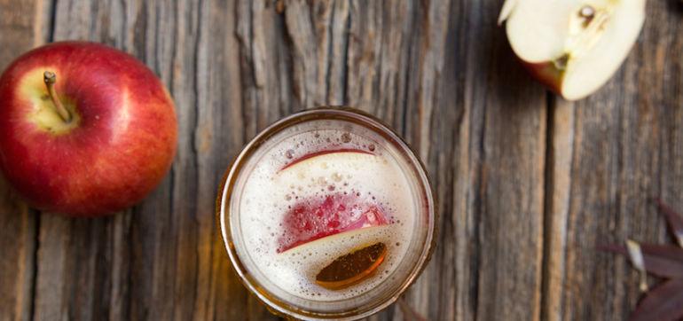 Easy, Alkalizing Apple Cider Vinegar Drink Hero Image