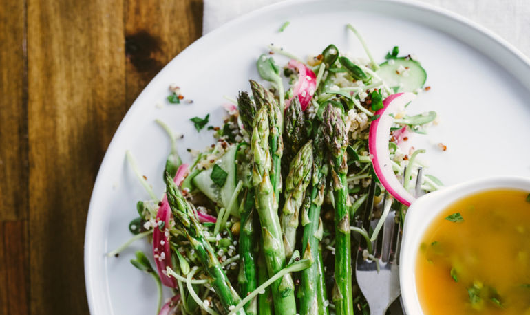 Advice From A Vegetable Butcher: What To Do With Spring Asparagus Hero Image